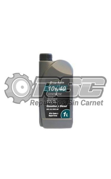 ACEITE MOTOR 10W40 1L